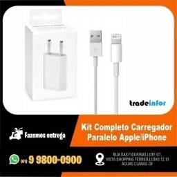 Kit Completo Carregador Paralelo Apple/ iPhone ( Atendemos por Delivery)