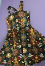 Vestido rodado floral