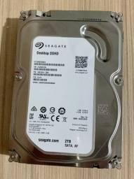 HD Seagate Híbrido 2TB