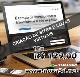 Criação de Site / Loja Virtual / Responsivos + Assistente Virtual