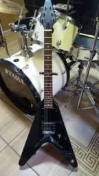 Guitarra Flying V c/ Malagoli Zonda - Luthier