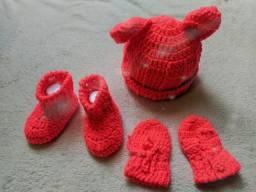 Manta e Conjunto para Bebê!