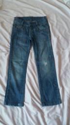 Calça jeans Infantil John John Kids