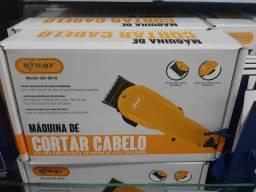Máquina de Corte de Cabelo Profissional Knup QR-8918 com Motor V5000!