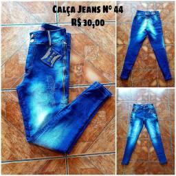 Calças jeans Plus sise N° 44-46