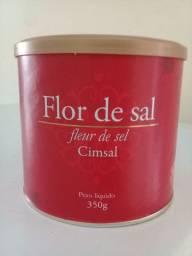 Flor de sal marca Cimsal