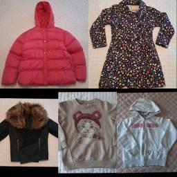 13- casacos infantil tamanho 04 e 06
