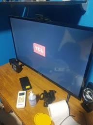 Tv smart 32 tcl nova 3 meses de uso