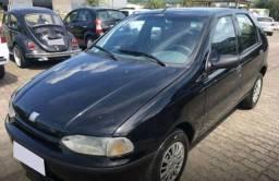 Preto Fiat Palio 1998 1.0 MPI EDX 8V GASOLINA 4P MANUAL