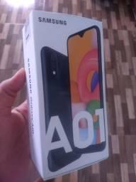 Celular Samsung Galaxy A01 NOVO