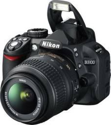 Câmera Nikon D3100 + Lentes 18-55mm e 70-300mm