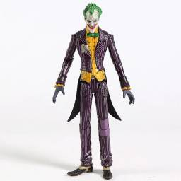 Boneco Coringa Action Figure The Joker Articulado 17cm No Batman Arlequina