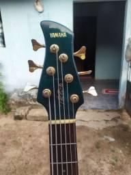 Contra baixo Yamaha trb 6 slap cut