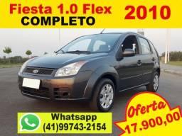 Ford Fiesta 1.0 ano: 2010 Completo * Aceito Troca * Financio