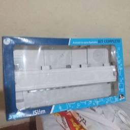 Kit banheiro de vidro