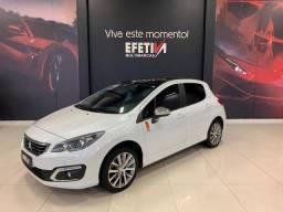 308 2017/2018 1.6 ROLAND GARROS THP 16V FLEX 4P AUTOMÁTICO