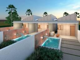 Casa na praia do amor - financiamento - banco - construtora - jacuma- carapibus -