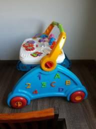 Andador para bebê didático múltiplas funções