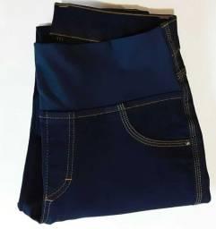 Calca jeans de gestante
