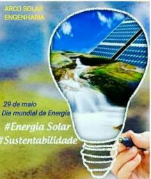 Kit de energia solar comprar usado  Maceió