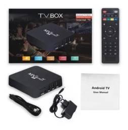 Tv box 4k 64 GB + Mini teclado Touchpad sem fio