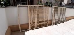 Grade sanfonada proteção janela gradil