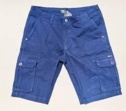 Bermuda Masculina Cargo Azul Marinho