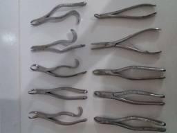 Kit Instrumentais odontológicos de cirurgia (usados)