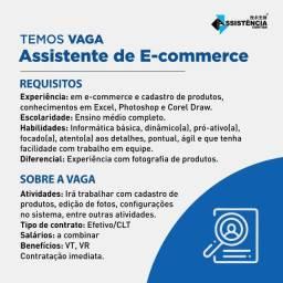 Vaga Assistente de E-commerce