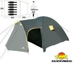 Barraca de camping 6 pessoas Deus Guepardo