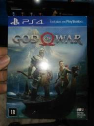 troco god of war 4 por Marvel Spiderman