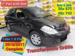 Nissan Tiida Sedan 1.8 Flex 2011 Entr 5.500
