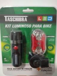 Kit Luminoso para bike Taschibra