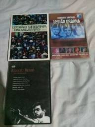 Vendo esses 6 CDS e 3 DVDS do legião urbana original