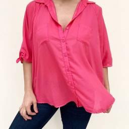 Blusa/camisa rosa