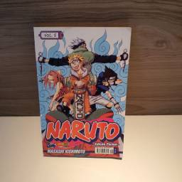 Mangá do Naruto volumes 1,5,6
