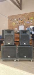 Caixas Amplificadas BL Áudio