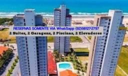 Fortaleza/Praia Futuro/Aptº8ºand.2 Suítes,2 Garagens(p/até 8pes.C/Propriet. 10xs/juros