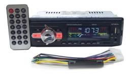 Rádio para carro com Bluetooth e MP3