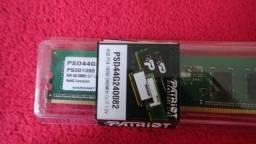 Memórias Ram Patriot DDR4 4GB