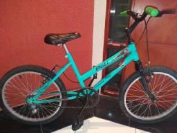 Bicicleta aro 20 Caloi conservada
