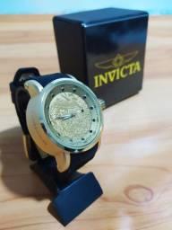 Relógio Yakuza Dourado Automático