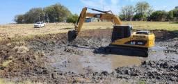 Escavadeira CAT 315DL ano 2008
