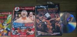 Vendo 6 jogos de play 2 novos!
