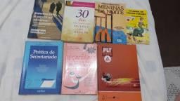 Livros ótimos apenas 5,00 reais cada