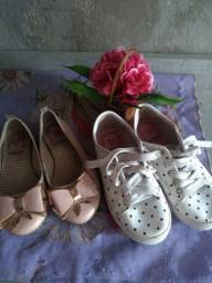 Sapato e sapatinha infantil