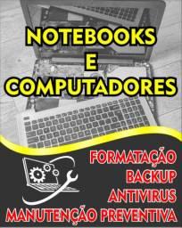 Manutenção de Notebooks e Computadores