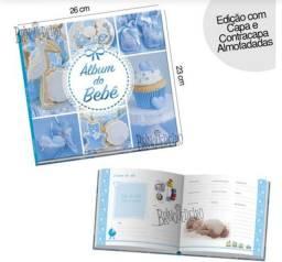 Album do bebê almofadado - recorde momentos com este lindo álbum.