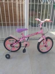 Bicicleta aro 16 rosa !!!