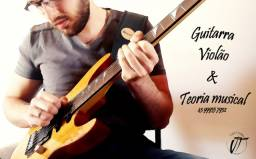 Aulas de Guitarra, Violão e teoria Musical